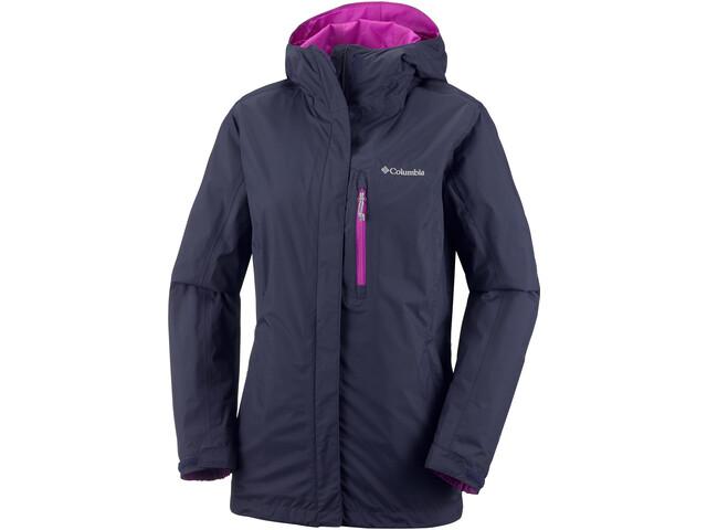 Columbia Pouring Adventure II Jacket Damen nocturnal